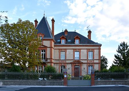 Photo de la maison d'hôtes L'Autre Rives à Albi - côté rue