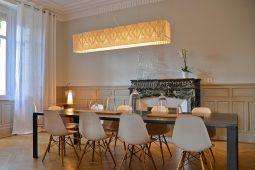 Salle à manger maison d'hôtes design l'autres rives albi