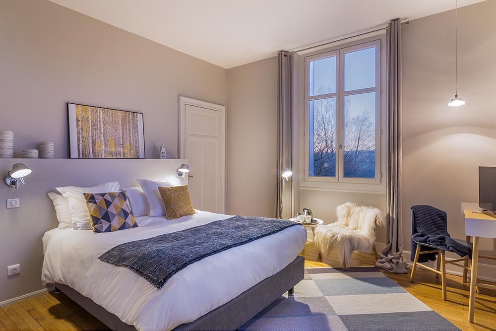 chambre scandinave lautre rives maison dh244tes design