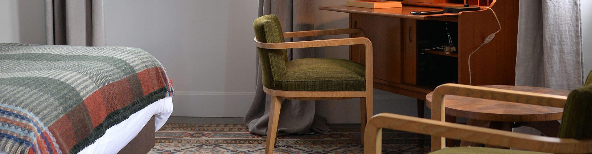 Chambre Vintage - L\'Autre Rives, maison d\'hôtes design à Albi