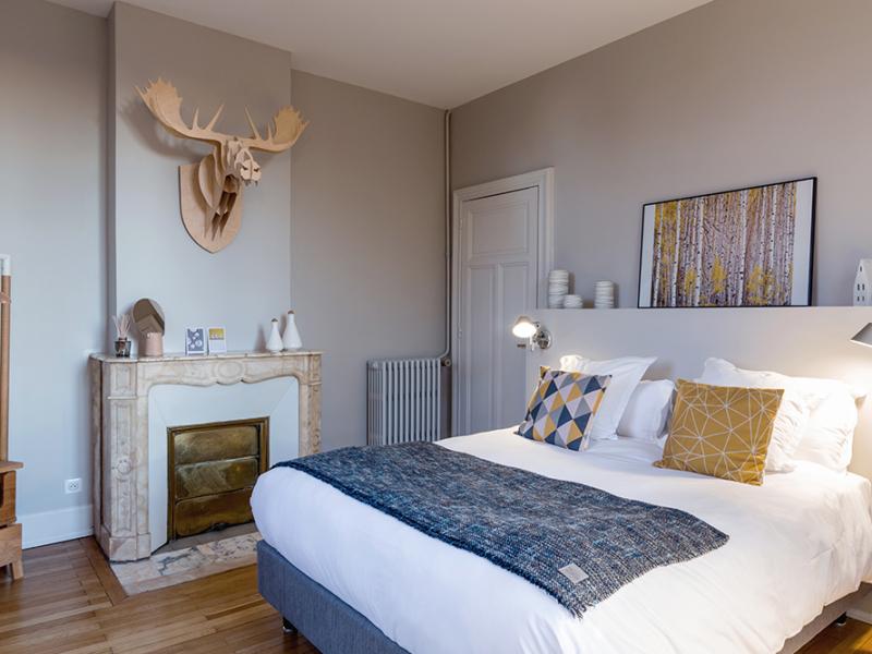 Chambre Scandinave L Autre Rives Maison D Hotes Design A Albi